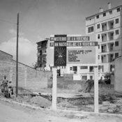 Foto antigua de construcciones Cantó