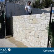 Foto de la pared terminada