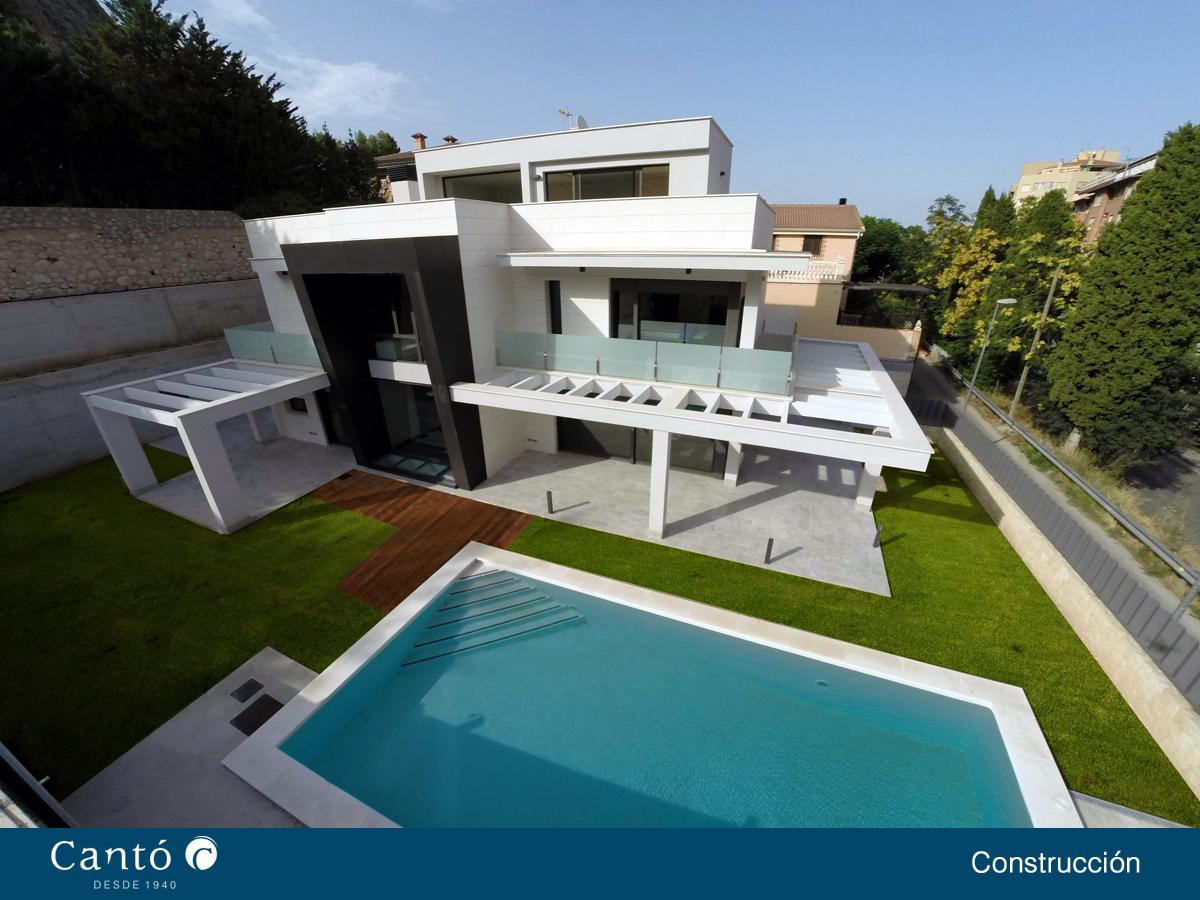 Construcci n de vivienda unifamiliar en alcoy alicante - Construccion vivienda unifamiliar ...