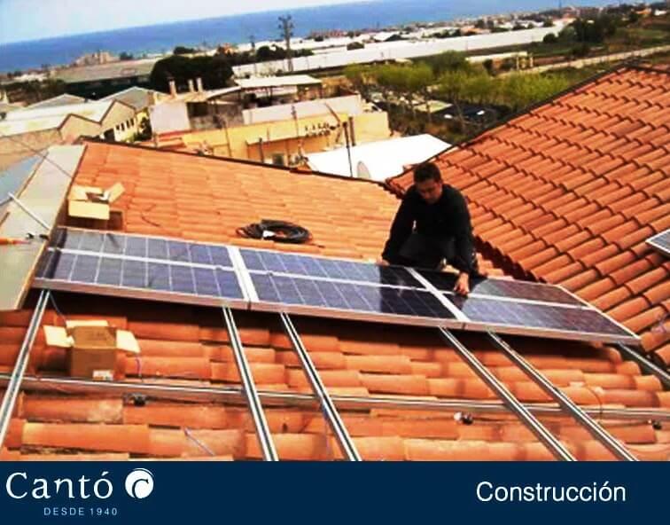 Energia solar placas solares construcciones cant - Constructoras elche ...