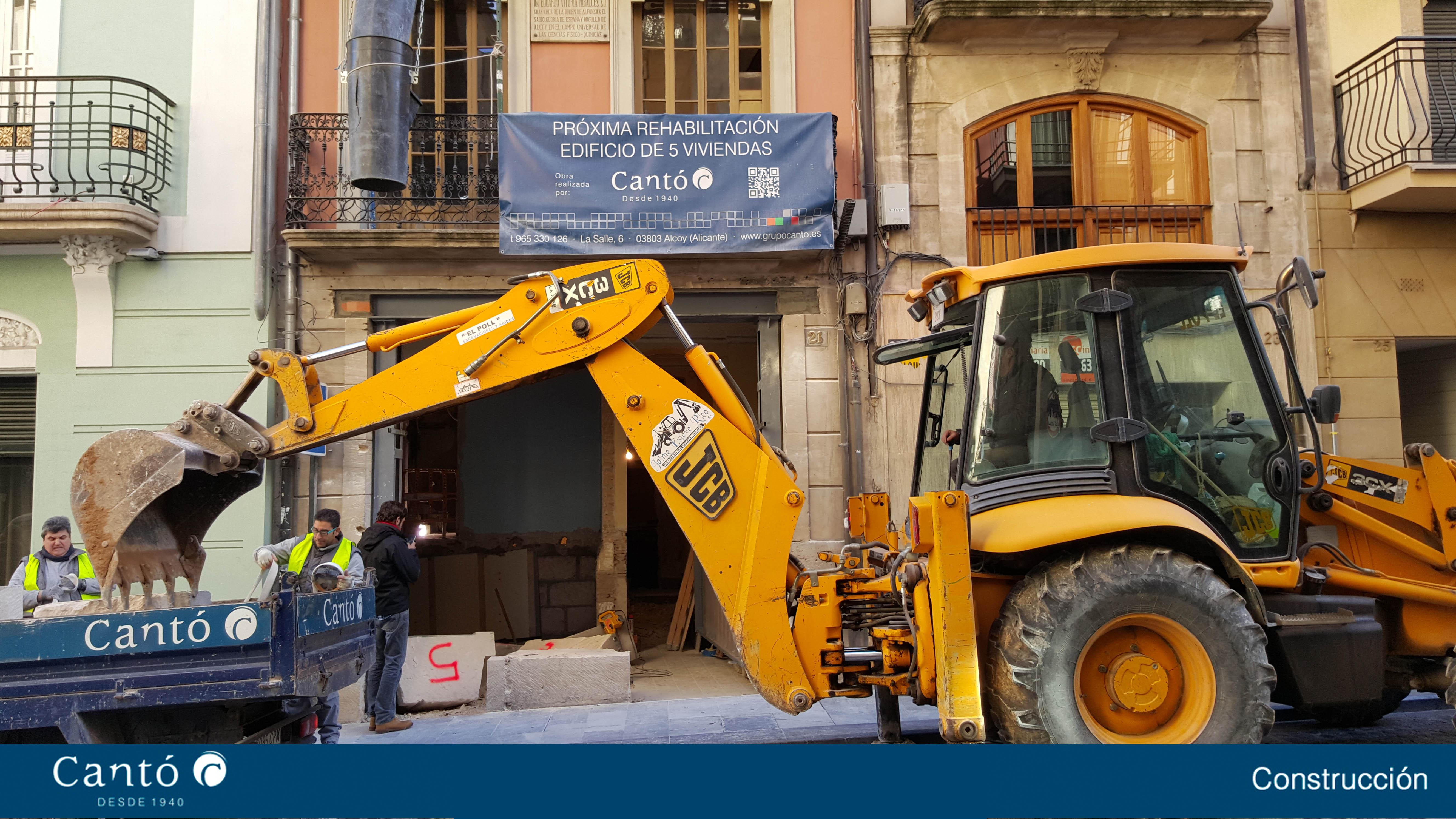 Rehabiitacion edificio 5 viviendas alcoy - Constructoras elche ...