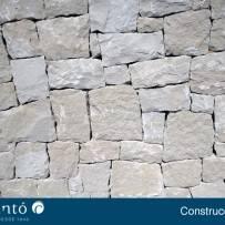 CONSTRUCCION DE CHALET DE PIEDRA EN SECO