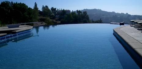 Funcionamiento de una piscina desbordante for Piscina de canal